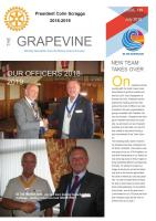 Grapevine Front Page July 2018