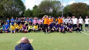May 2017 Football Tournament for local Homeless Organisations