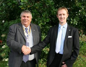 New president for St Asaph rotary
