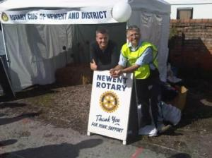 Rotary at Newent onion Fayre 2010