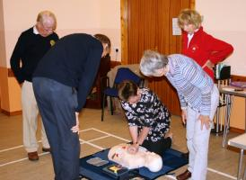 Heart Start & Defibrillator Training