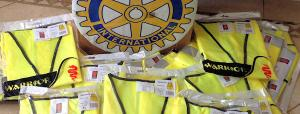 High Visibility jackets for Covid-19 vaccination Centre.