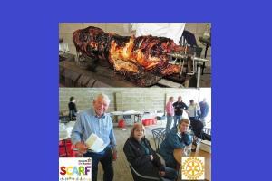 Annual Rotary pig roast at Lower Hook Farm - 29th July 2018