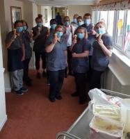 Care Workers enjoy Ice Cream surprise