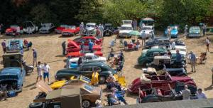 A Record Classic Car Show on Wednesday 8th August.
