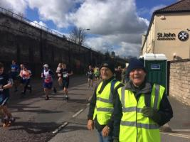 Supporting the Bath Half Marathon
