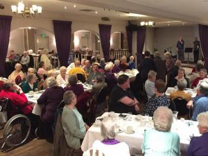 Over 90 attend Community Tea