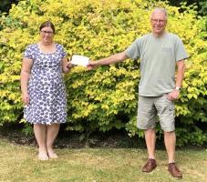 Cheques to Charities