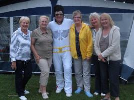 Elvis visits March Rotary Caravan Rally 2014