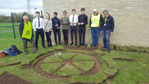 End Polio Now - Crocus Planting at All Saints Academy