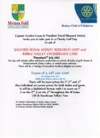 Charity Golf Event at Mytton Fold Golf Club - Thursday 12th July 2012