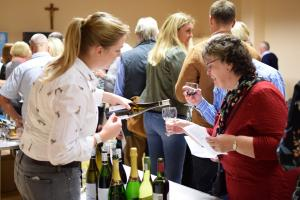 Wine Tasting at Queen Margaret Hall, Linlithgow 2017