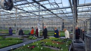 Visit to Pentland Plants 2018