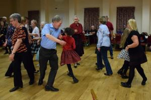 Scotch Hop at Queen Margaret Hall, Linlithgow