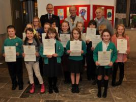 Young Artist Competition Prize Giving 7th February 2014