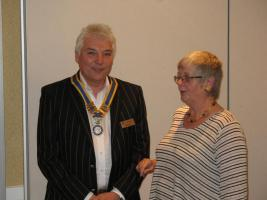 Ian Rosewell becomes President for 2012/13