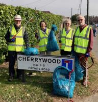 Cleaning up in Hedge End