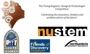 Young Engineer Design Technology (YEDT) 2017 - deadline for entries 28/6 18:00