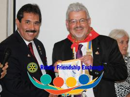 Visit of Mexican Rotarians