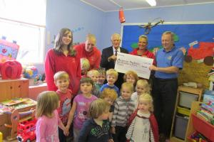 May 2016 Community Grant - Malborough Pre School