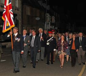 WW1 Commemoration 4 August 2014