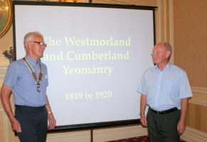 6:00pm Dinner - Speaker Peter Markey  Cumberland & Westmorland Yeomanry