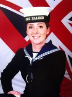 Maz joins the Royal Navy