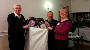 Club helps Mary's Meals