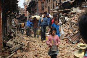 Nepal Earthquake Disaster
