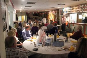 Fund raising dinner for Life Education Mobile Classrooms at Newlands Park, Southam