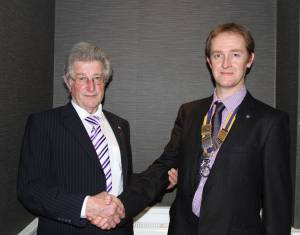 Another new member for St Asaph Rotary Club