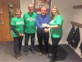 Donation to Swindon NSPCC
