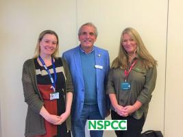 Caroline and Helen talk about the NSPCC and the Swindon Service Centre