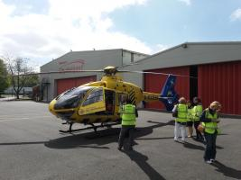 Visit to North West Air Ambulance Helicopters