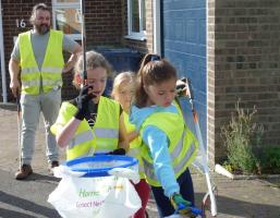 Jun 2017 Litterpickingin Histon/Girton/Oakington area