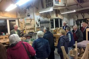 Visit to Peter Hall & Son, Staveley