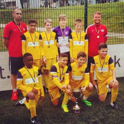 Local Club wins National Football Tournament