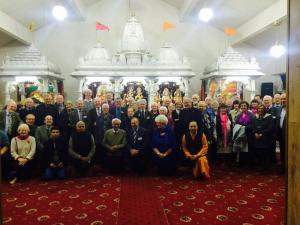 Visit to Leeds Hindu Temple Monday 2 November 2015
