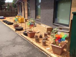 Sensory Garden at Edward The Elder Primary School
