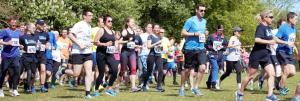 May 2018 Sawston Fun Run - glad to help out