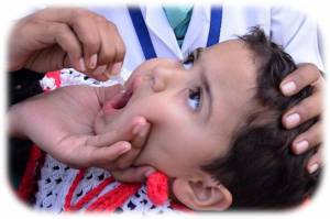 Regular top up of Polio drops in countries not yet clear of Polio