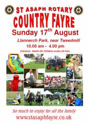 Country fayre poster