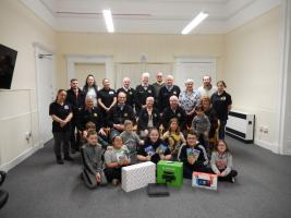 working with the local community - Powis Community Centre