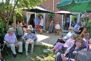 President's summer wine & nibbles 8th July 2018