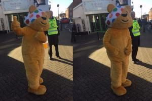 Crowthorne raises £564 for Children in Need
