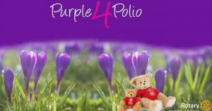 Purple for Polio 2019