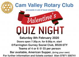 Cam Valley Quiz Night