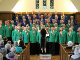 Romsey Male Voice Choir with Students from Brockenhurst College