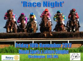 Fundraising 'Race Night'