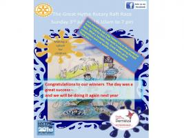 The Hythe Rotary Grand Raft Race